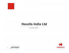 Havells India Ltd October 2009
