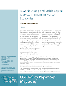 Stable Capital Markets in Emerging Market Economies