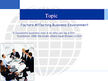 presentation n factors affecting business enviroment