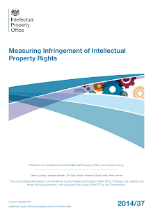 Research Study on Measuring Infringement of Intellectual Property Rights