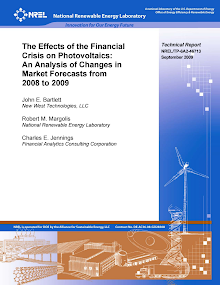 Project Report on Financial Crisis on Photovoltaics