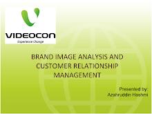 BRAND IMAGE ANALYSIS OF VIDEOCON