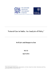 Natural Gas in India: An Analysis of Policy