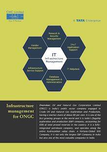 Infrastructure Management on Oil and Natural Gas Corporation Limited (ONGC)