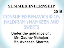 Haldiram's Delhi consumer preference