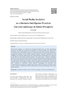 Social Media Analytics on Business Intelligence