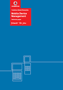 White Paper on Mobile Device Management - Vodafone