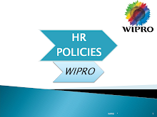 HR POLICIES OF WIPRO