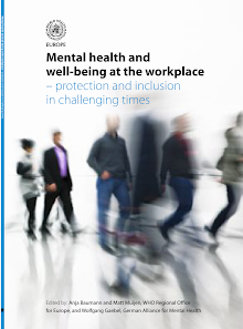 Research on Mental health and well-being at the workplace