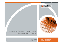 Procter & Gamble in Beauty and Personal Care - World