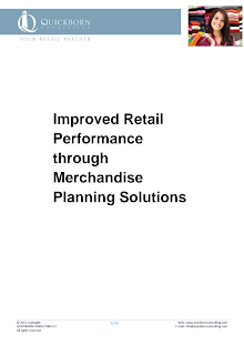 Study on Improved Retail Performance through Merchandise Planning
