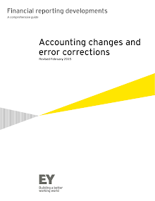 Financial Study Report on Accounting Changes and Error Corrections