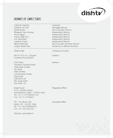Dish TV India Limited Annual Report 2011-12