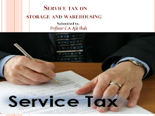 Service tax on storage and warehousing activities