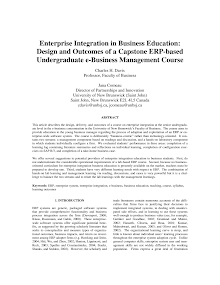 Study on Enterprise Resource Planning Business Case Considerations