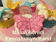 Máluð fiðrildi - Kennslumyndband