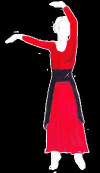 n.f.: 1. génie féminin ailé, qui vit dans les airs. 2. (par analogie) femme svelte, élancée, gracieuse.