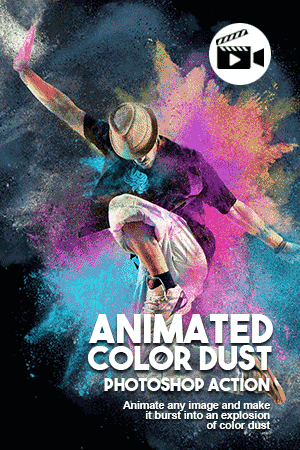 animated color dust