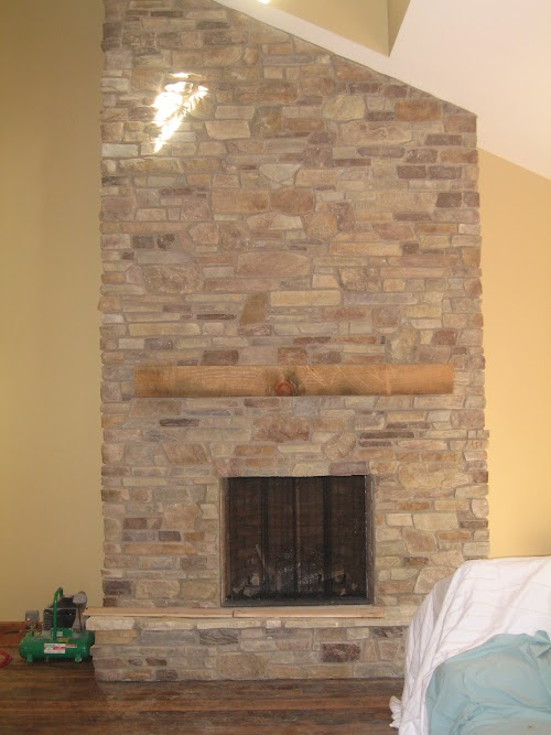 Eldorado Old Orchard Cypress Ridge Fireplace