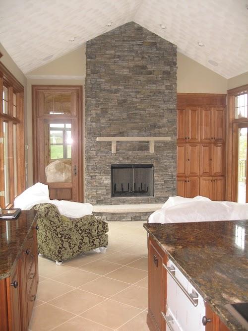 Eldorado Chapel Hill Stacked Stone 002 - Fireplace