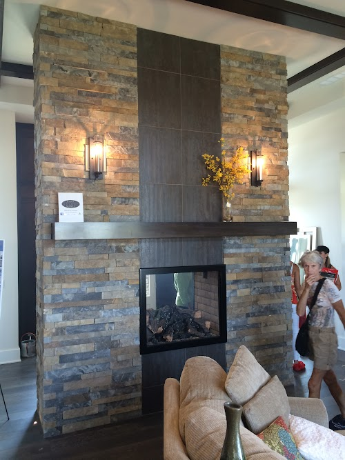 Table Rock Riverbed Ledgecut 32 Fireplace 001