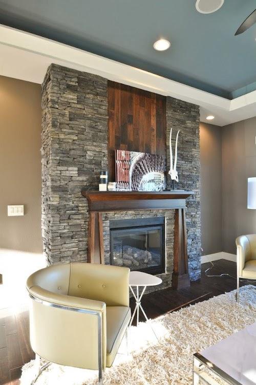 Eldorado Chapel Hill Stacked Stone Fireplace 008