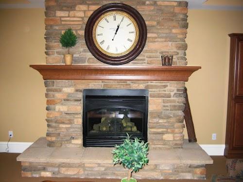 Eldorado Cascade Rustic Ledge Fireplace