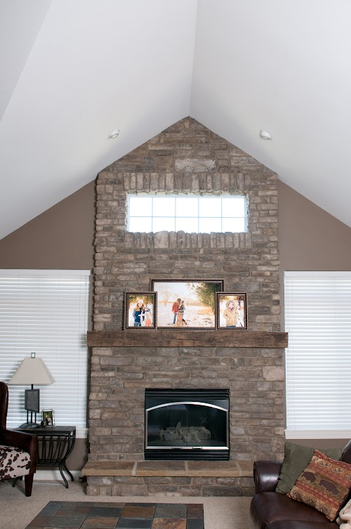 Creative Mines Bison Craft Peak Ledge - Rissi Fireplace.03