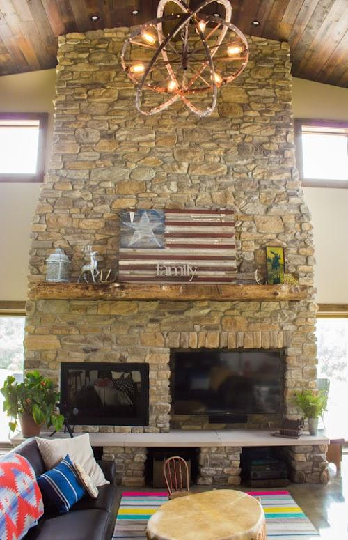 Eldorado Chesapeake Shadow Rock Fireplace Lori Wiles