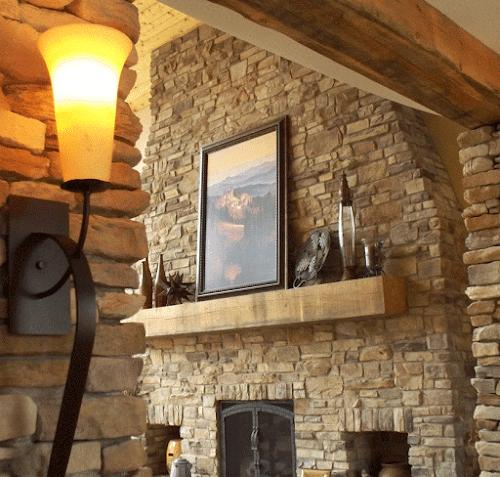 Eldorado Old Orchard Cypress Ridge Lori Wiles Fireplace