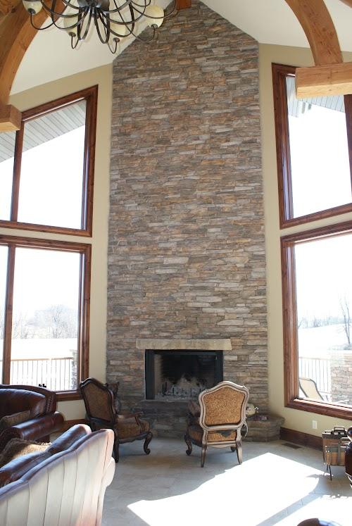 Eldorado Saratoga Rustic Ledge and Saratoga Country Rubble 004 Fireplace