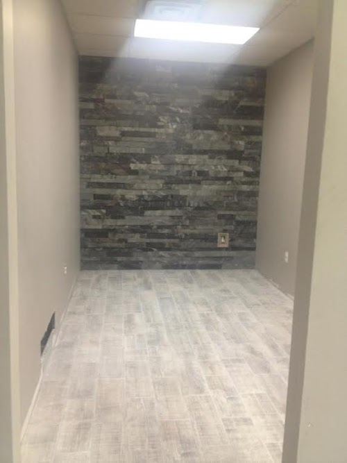 Smokehouse LedgeCut feature wall
