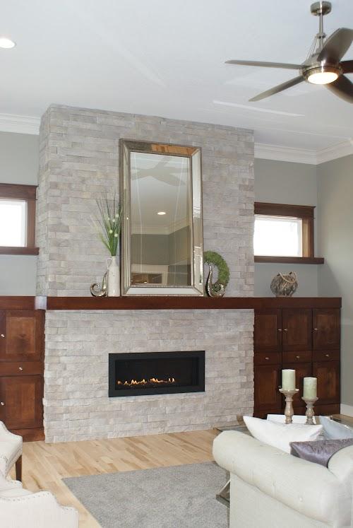 Eldorado Birch Ledgecut33 Fireplace 003