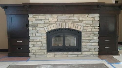 Eldorado Clearwater Rustic Ledge 001 - Fireplace
