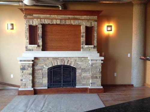 Table Rock Millbrook Ledgecut 32 Fireplace 2(Focal Point Remodel)