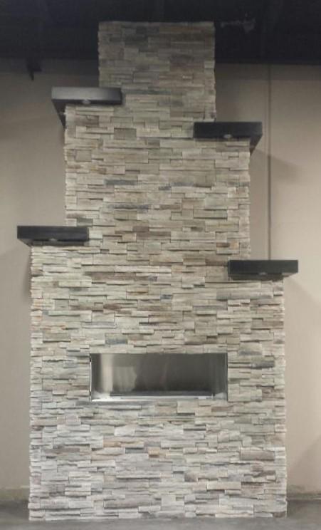 Boral Echo Ridge Pro-Fit Alpine - Fireplace