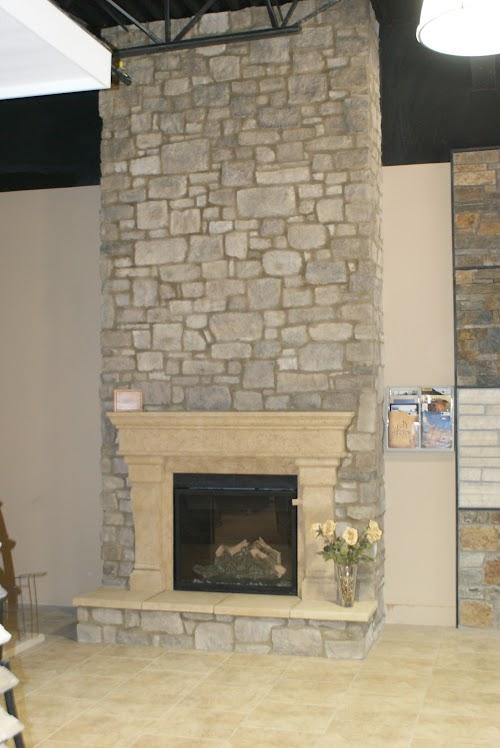 Eldorado Moonlight Roughcut Eldorado Fireplace Surround