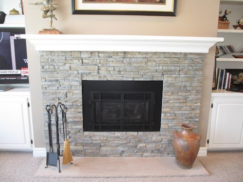 Eldorado Nantucket Stacked Stone - Fireplace 001