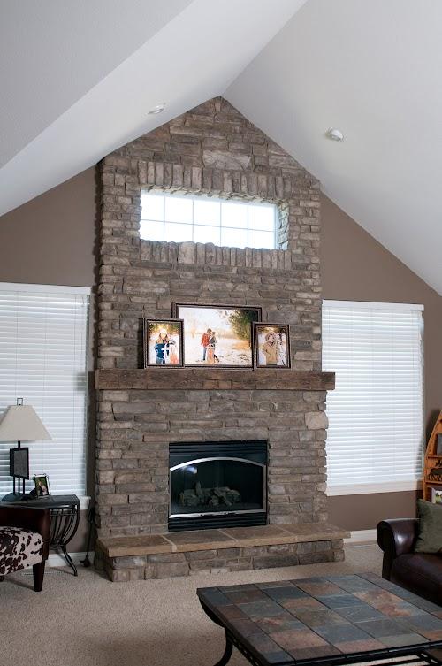 Creative Mines Bison Craft Peak Ledge - Rissi Fireplace.02