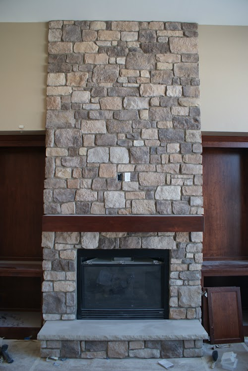 Eldorado Autumn Leaf RoughCut Fireplace 001