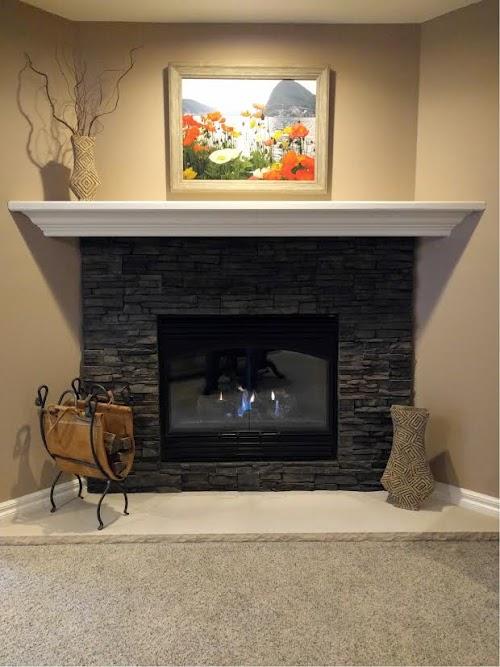 Eldorado Chapel Hill Stacked Stone 003 - Fireplace