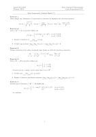 serie 8(fonctions a plusieurs variables)