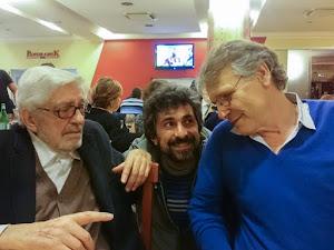 Ettore Scola, Maurizio Torchio, Daniel Pennac