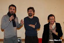 Maurizio Torchio, Wanda Sorbilli, Paolo Montagna, Premio Letterario Città di Moncalieri 2015
