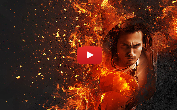 Fire & Ashes - Vulcanum - Photoshop Action - 1