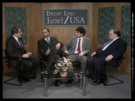 Direct Line with Daniel Bloch, Sheldon Engelmayer, Zadok Yehezkeli and Sheryl Stein (Original Airdate 11/27/1988)