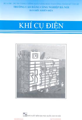 CĐCN.Khí Cụ Điện - Nhiều Tác Giả, 72 Trang.pdf
