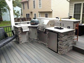 Building Your Own Outdoor Kitchen DIY Ideas Sandychenaultcom