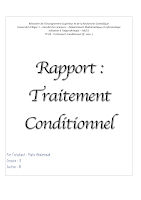 RAPPORT 2 Traitement Conditionnel If else MI Alger.pdf