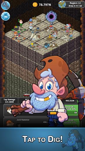 Tap Tap Dig – Idle Clicker Mod APk 2.0.1 [Unlimited Money]